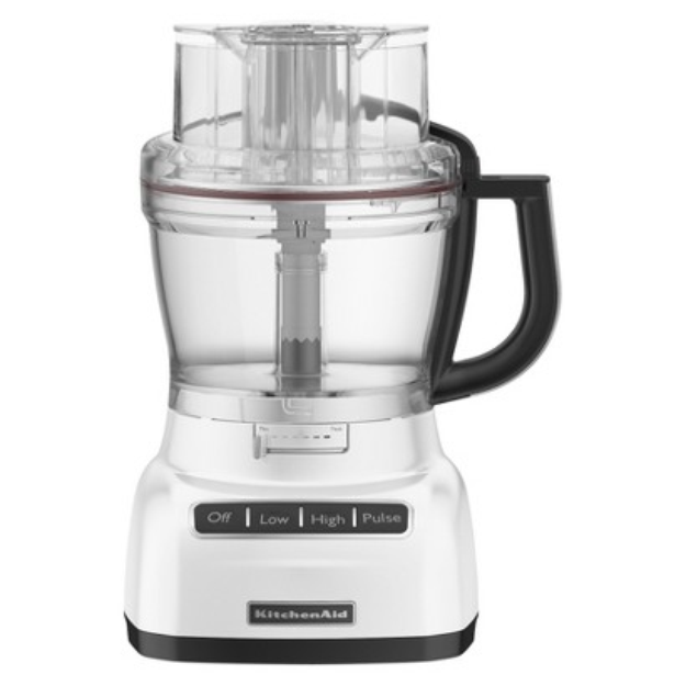 KitchenAid 9-Cup Food Processor - White KFP0922