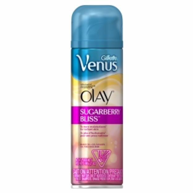 Gillette Venus with a Touch of Olay Shave Gel Sugarberry Bliss