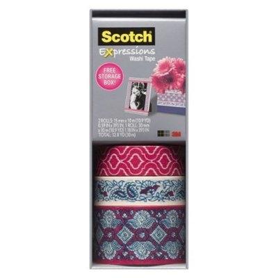 Scotch Washi Tape Pink Multi Pack