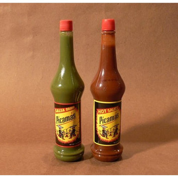 Picamas Hot Sauce & Salsa Brava 7.05 oz. from Guatemala (2 Pack)