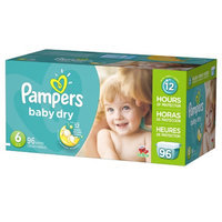 Pampers Baby Dry Diapers Size 6 Giant Pack