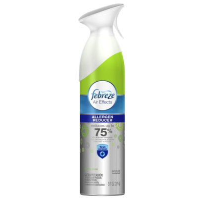 Febreze Air Effects Allergen Reducer Freshly Clean Scent Air