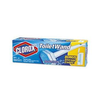 Clorox Toilet Wand Kit w/Caddy &amp
