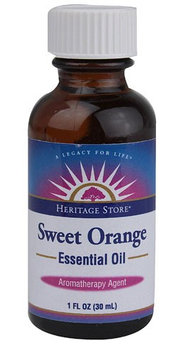Heritage Products, Sweet Orange Essential Oil 1 fl oz