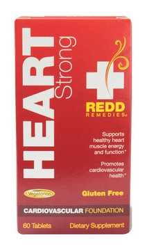 Redd Remedies - Heart Strong Cardiovascular Support - 60 Tablets