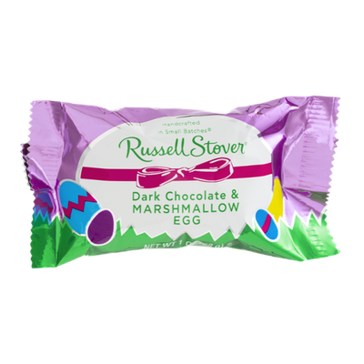 Russell Stover Dark Chocolate & Marshmallow Egg