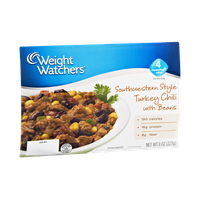 Weight Watchers Southwestern Style Turkey Chili with Beans