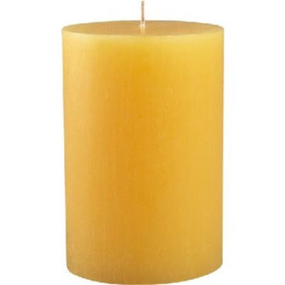 Zest Candle CPZ-116-24 2 x 6 in. Yellow Pillar Candle -24pcs-Case - Bulk