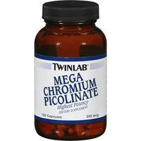 Twinlab Mega Chromium Picolinate 500 mcg 100 Capsules