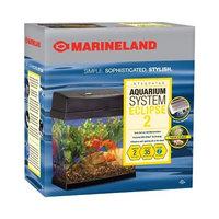 Marineland Eclipse Explorer Orca Fish Tank, Black, 2-Gallon