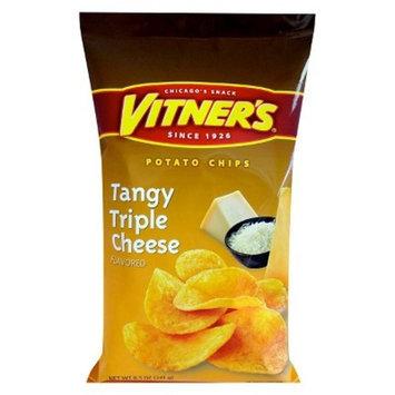 Vitner's® Tangy Triple Cheese Potato Chips 8.5 oz