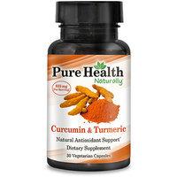 Pure Health Curcumin & Turmeric Dietary Supplement Capsules