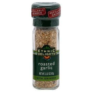Ethnic Delights Seasoning Roasted Garlic, 2.2200-Ounce (Pack of 3)