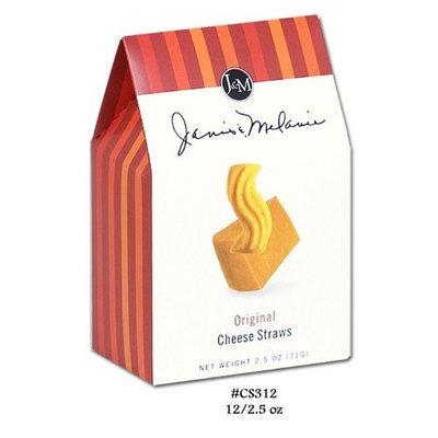 J & M Cheddar Original Cheese Straws