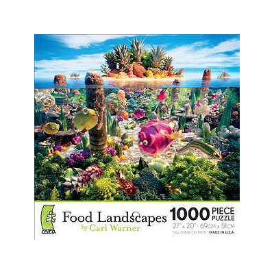 Ceaco Food Landscapes Coralscape 1000 Pcs Ages 13+