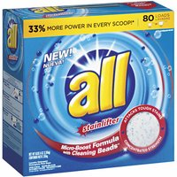 All Stainlifter Micro-Boost Formula with Cleaning Beads Powder Laundry Detergent
