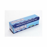 BOARDWALK 12'' Heavy-Duty Aluminum Foil Roll in Silver
