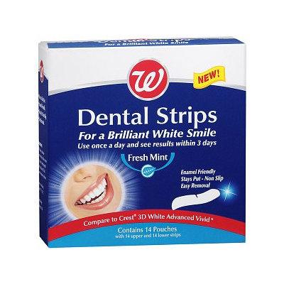 Walgreens Dental Strips