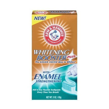 ARM & HAMMER™ Whitening Booster Plus Enamel Strengthening