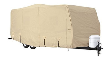 Eevelle GLRVTT3638T Goldline Cover Travel Trailer - Tan