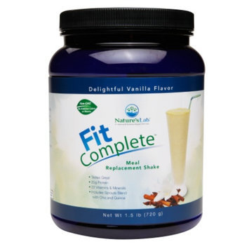 Nature's Lab Fit Complete - Meal replacement Shake Vanilla