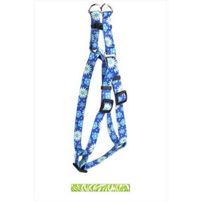 Yellow Dog Design SI-ZG101S Zebra Green Step-In Harness - Small
