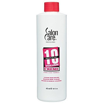 Salon Care 10 Volume Creme Developer 16 oz. []