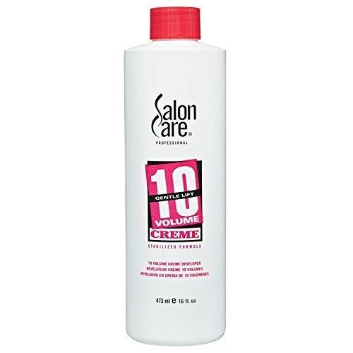 Salon Care 10 Volume Creme Developer 16 oz  []