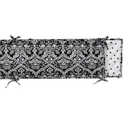 Seed Sprout - Damask Crib Bumper