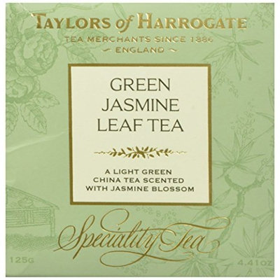 Taylors of Harrogate Green Jasmine Leaf Tea, Loose Leaf, 4.41 Ounce Box