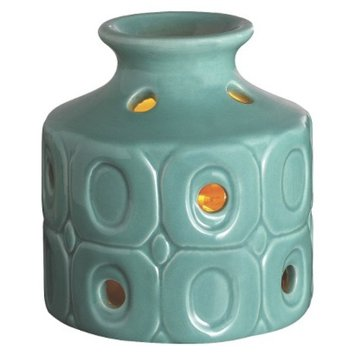 Westinghouse Wax Free Warmer Set-2 Extra Fragrance Disks included - Teal Oval