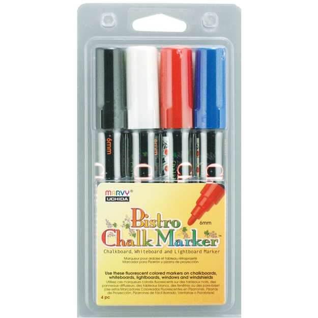 Uchida Of America Bistro Chalk Marker (Pack of 4)