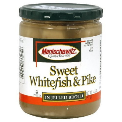 Manischewitz Whitefish & Pike, No MSG, 14.50-Ounce (Pack of 3)