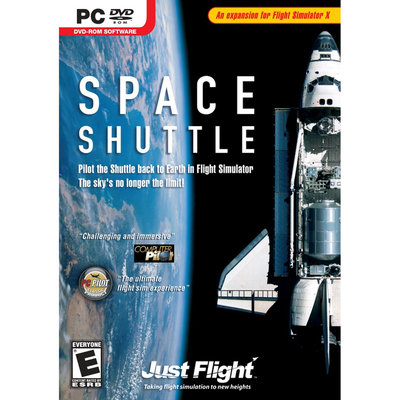 Just Flight SPACE SHUTTLE - FLIGHT SIMULATOR EXPANSION PACK - Black