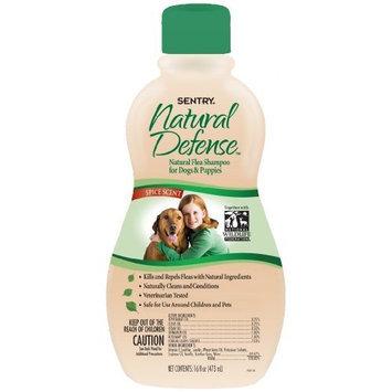Sentry Natural Defense Flea Shampoo Dog 16-Ounce