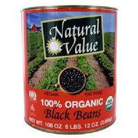 Natural Value Black, 108-Ounce (Pack of 6)