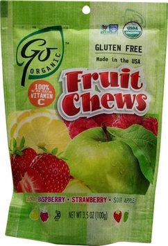 Go Naturally GoOrganic Gluten Free Fruit Chews 3.5 oz