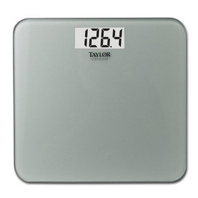 Taylor 7532 Ultra Thin Glass Digital Scale (400lb capacity)