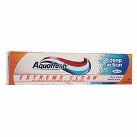 Aquafresh Extreme Clean Deep Action Fluoride Toothpaste