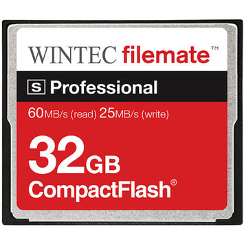 Wintec FileMate 32GB Compact S-Professional Flash Memory Card