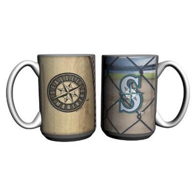 Boelter Brands MLB Mariners Set of 2 Ballpark Coffee Mug - 15oz