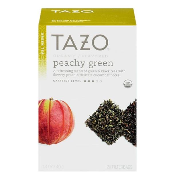 Tazo  Organic Peachy Green