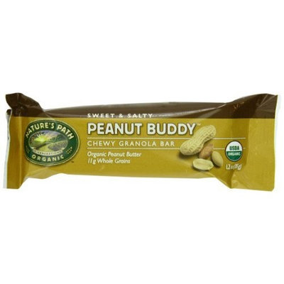 Nature's Path Organic Granola Bars Peanut Buddy, 6-Count Boxes (Pack of 6)