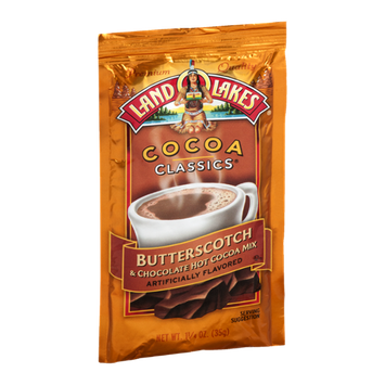 Land O'Lakes Cocoa Classics Hot Cocoa Mix Butterscotch & Chocolate