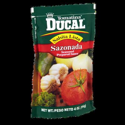 Ducal Tomatina Sazonada Seasoned Prepared Sauce