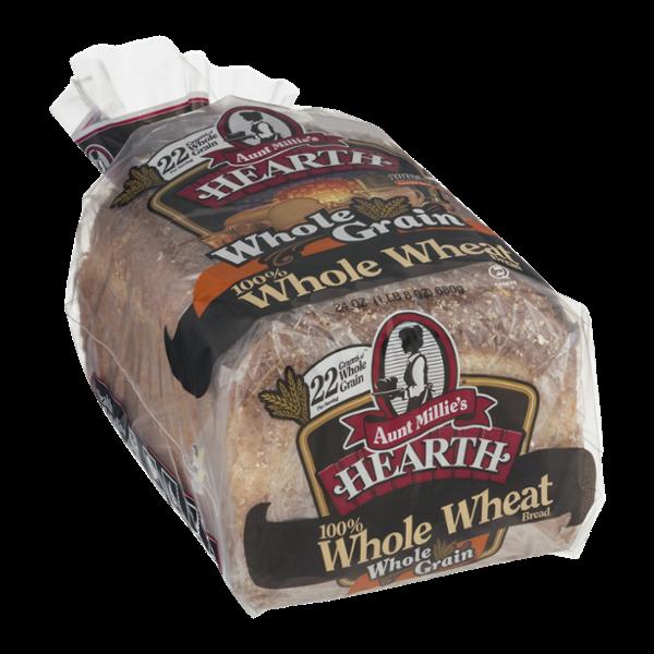 Aunt Millie's Hearth 100% Whole Wheat Bread