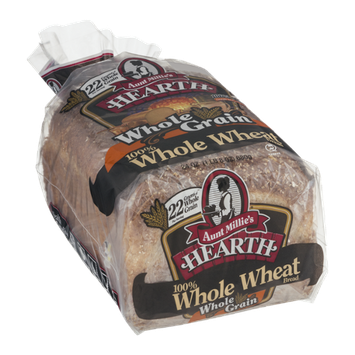 Aunt Millie's Hearth 100% Whole Wheat Bread