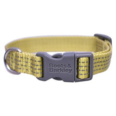 Boots & Barkley Reflective Core Collar XS - Green