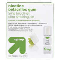 Up & Up Nicotine Polacrilex 2-mg. Gum - Cool Mint (100-pk.)