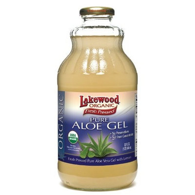 Lakewood, Organic Aloe Vera Gel Juice, 32 Oz